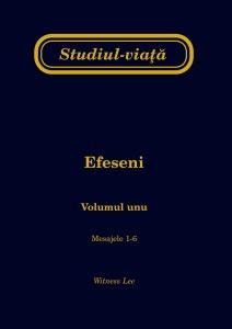 Studiul-viaţă Efeseni