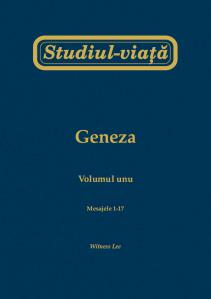 Geneza vol 1